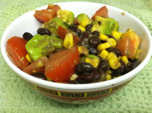 Summer Black Bean and Avocado Salad