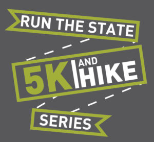 Run The State 5K & Hike Series Logo