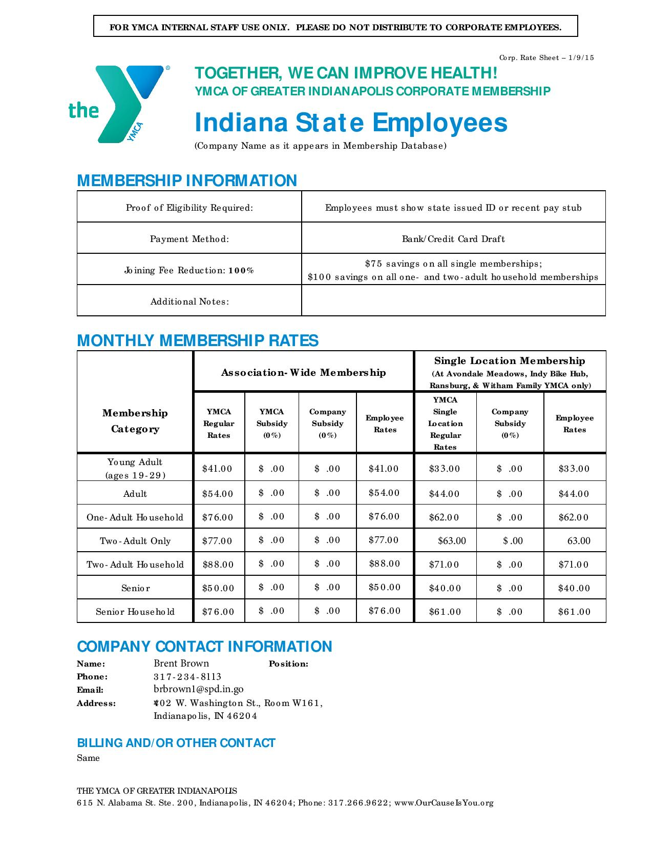 Invest In Your Health Indiana