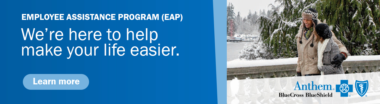 Anthem Employee Assistance Program. We're here to help make your life easier. Click to learn more.